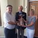 <Summer Mixed Foursomes winners Keith & Sue Hale