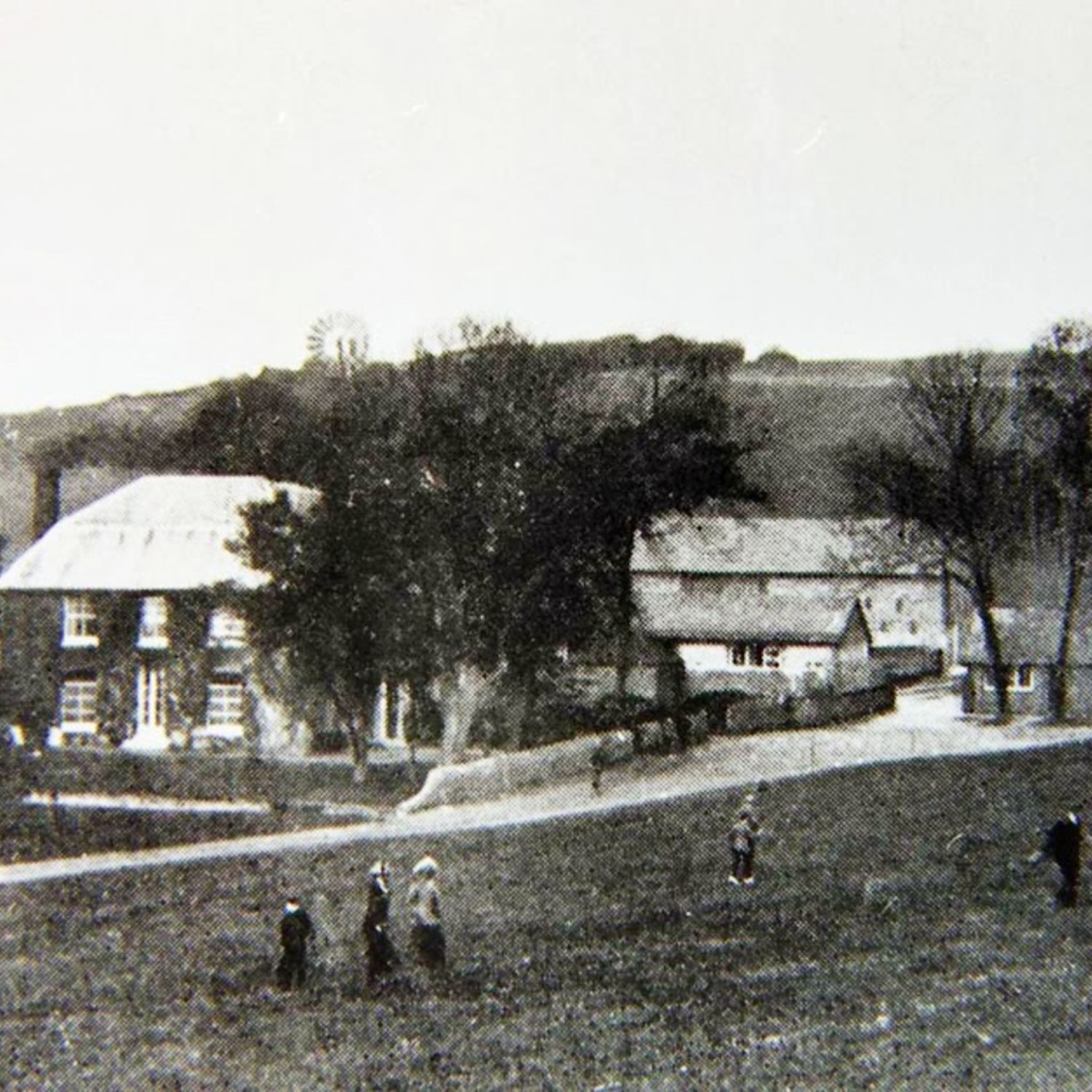 Warren Farm became the Club House when a nine hole course was built around the clubhouse and opened