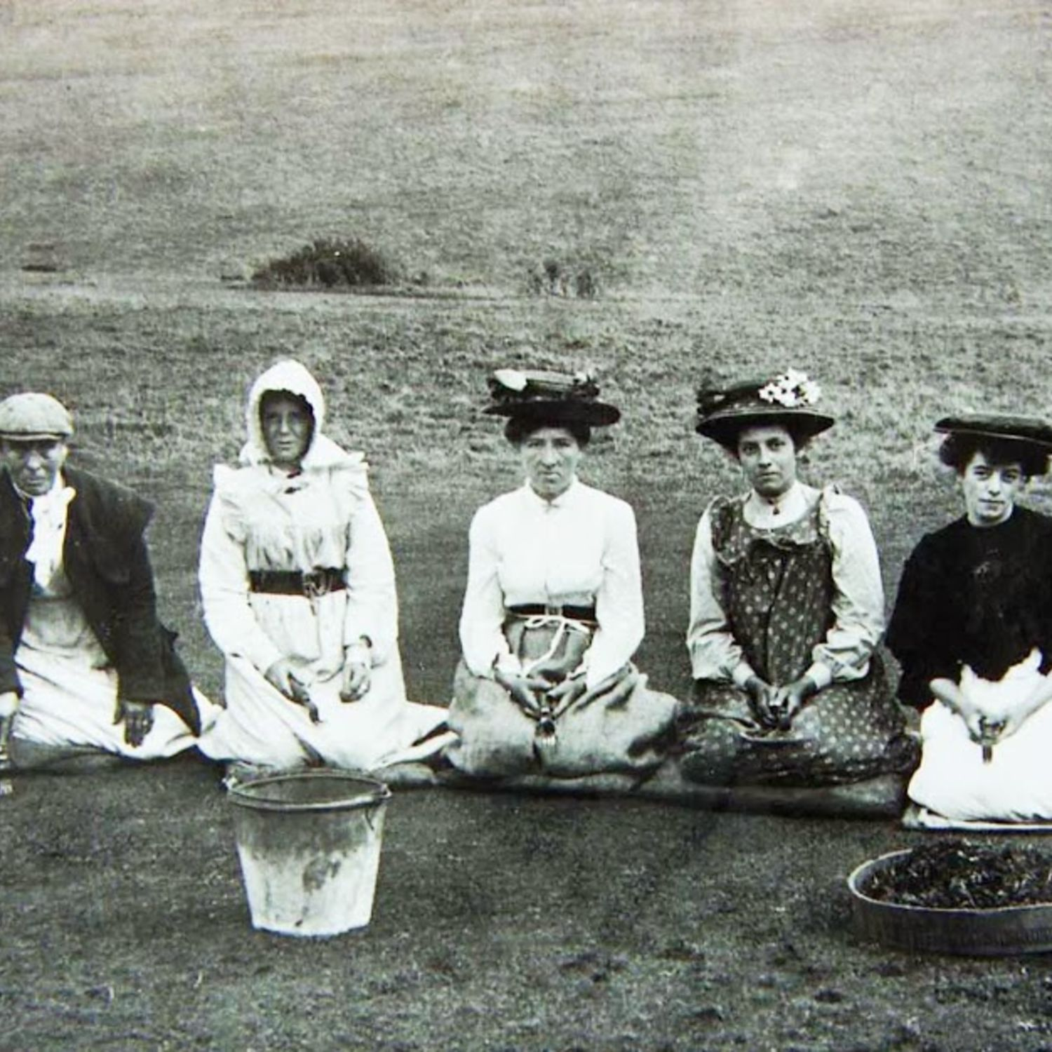 Wives of the greens staff did the weeding and mowing as their husbands were away at the 1914-18 Worl