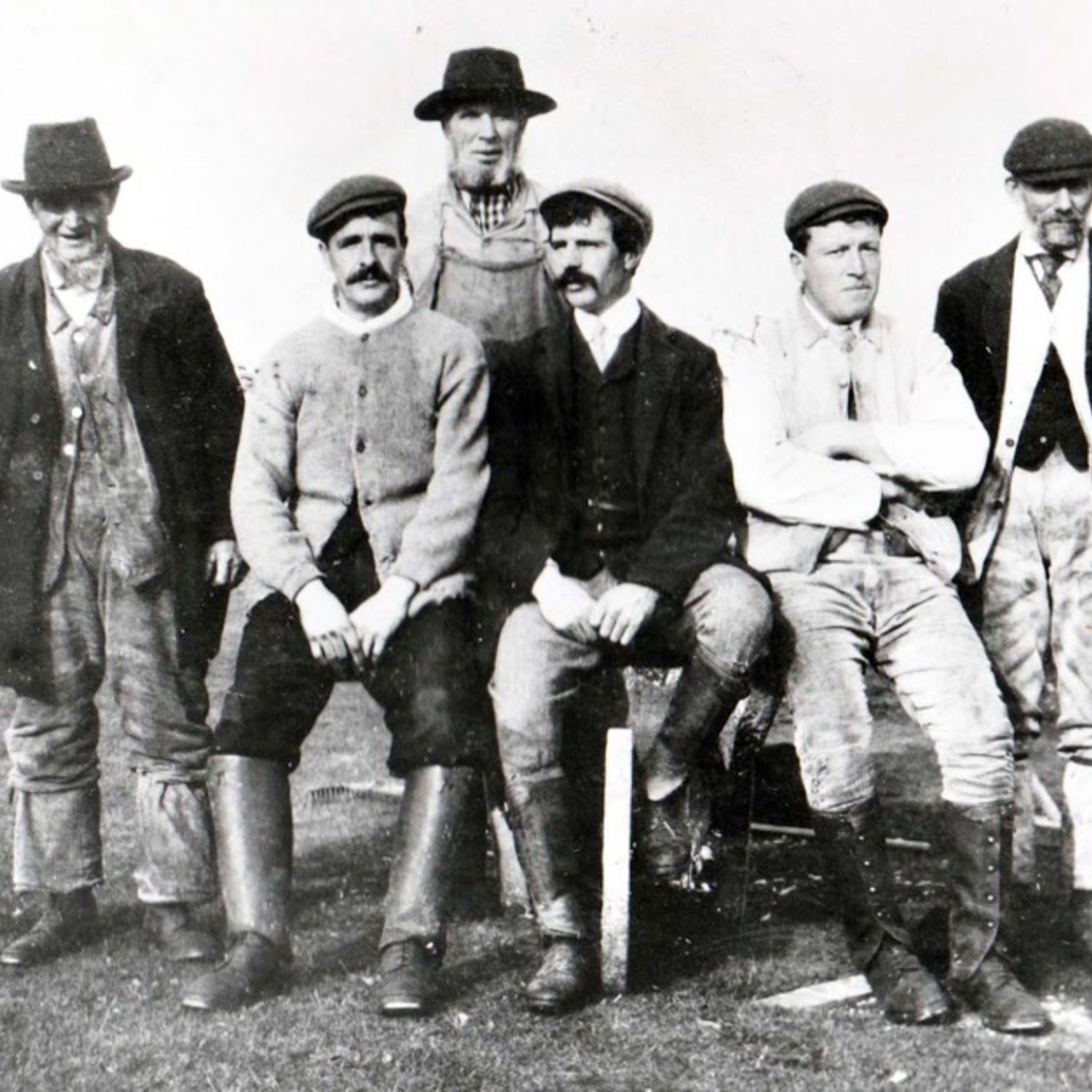 Some of the green staff in 1908