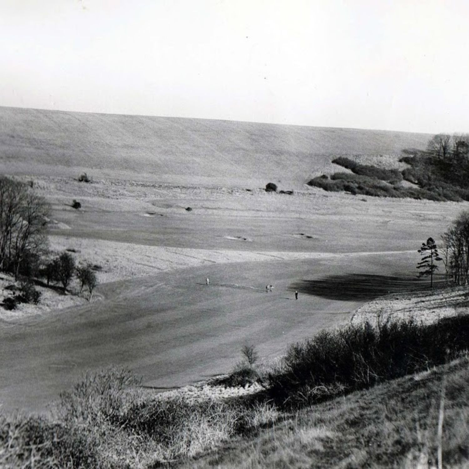 1948 The 6th fairway, with the 13th in the background