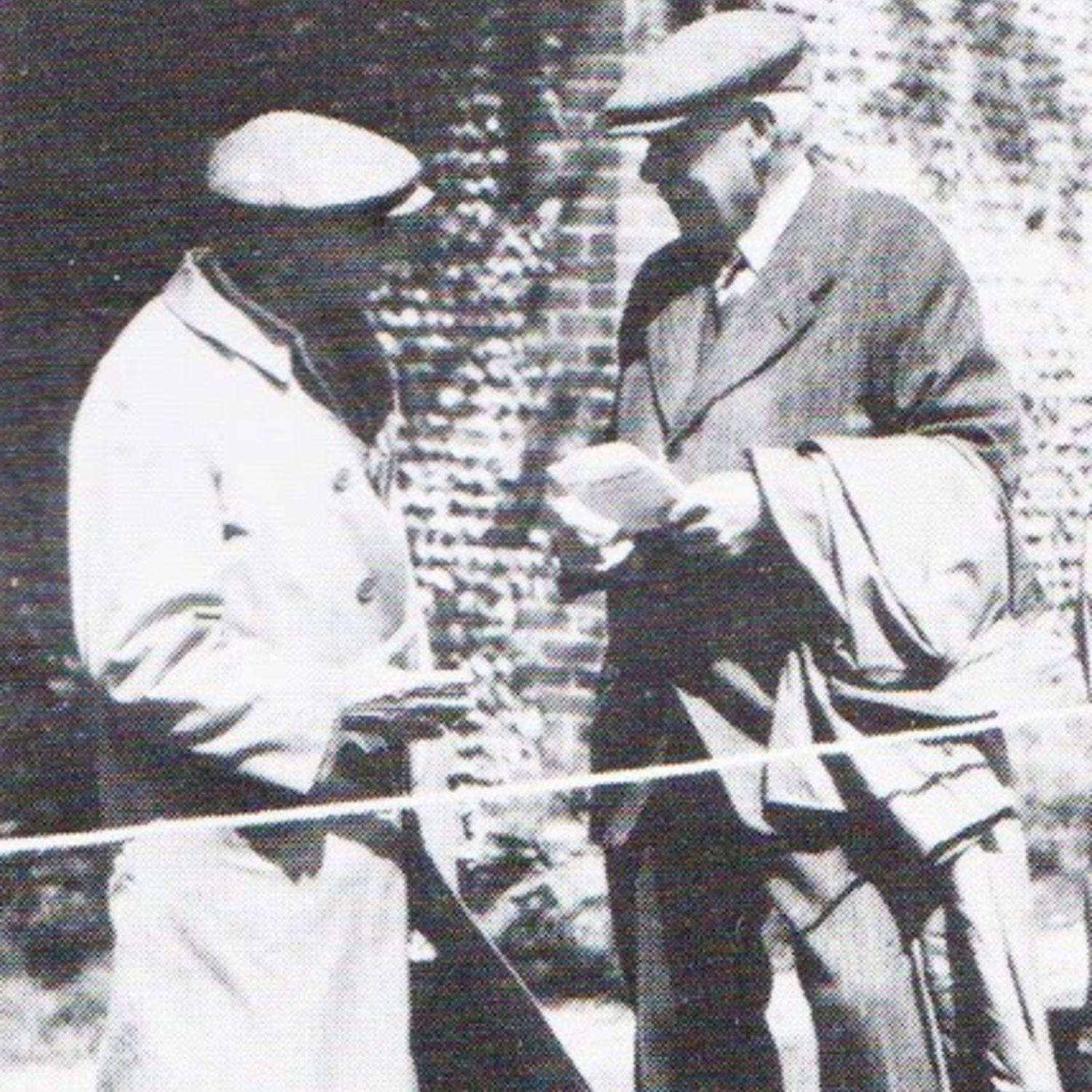 James Braid, a five times past Open Champion, was invited to attend the first Spalding Tournament